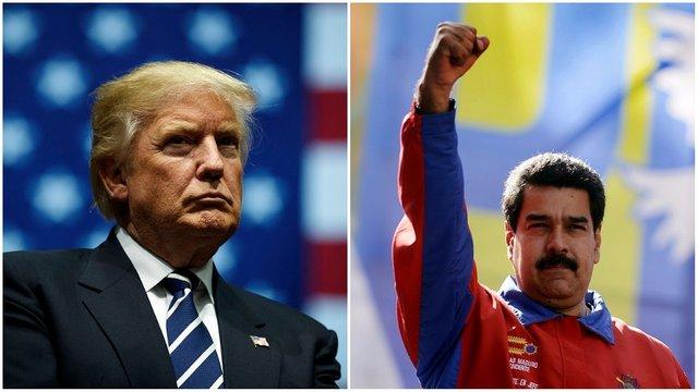 Maduro in Trump