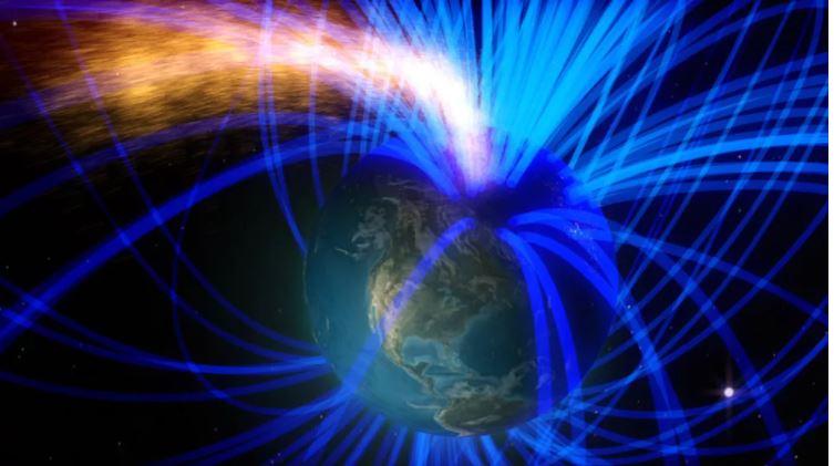 Magnetno polje Zemlje  Vir:Twitter