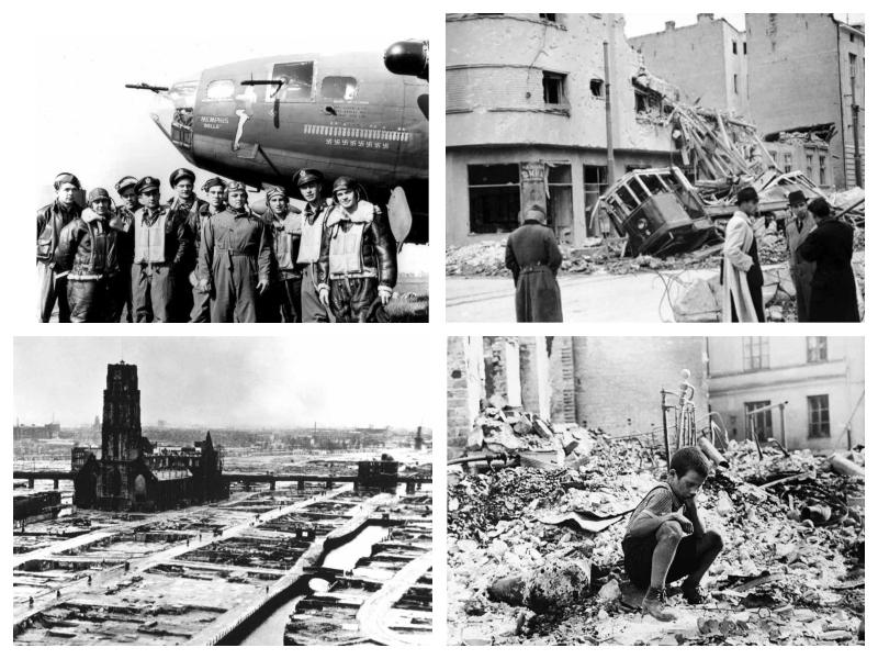 Maribor - posledice bombardiranja