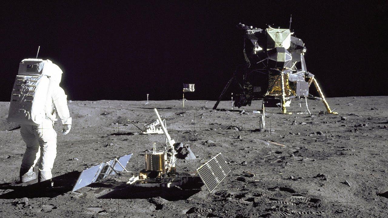 Apolo 11- posnetki z Lune