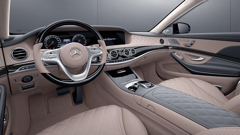 Maybach - notranjost  Vir: Mercedes-Benz
