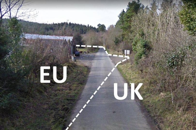 Maja med Veliko Britanijo in Irsko