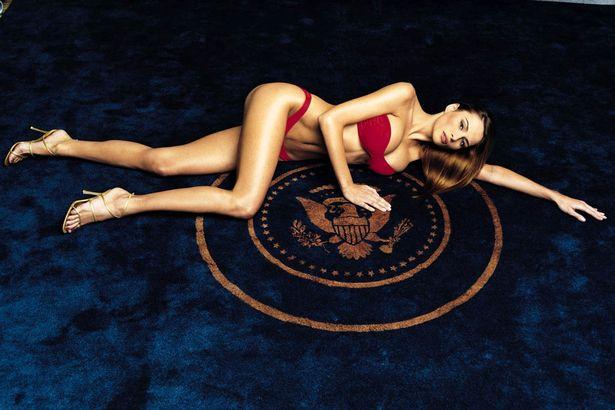 Melania Trump leta 2000