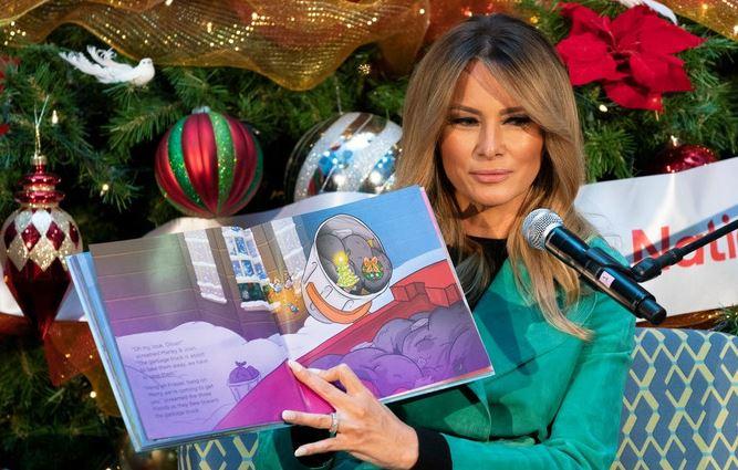 Melania bi rada izdala knjigo o svojih dosežkih v Beli hiši. Vir: Twitter