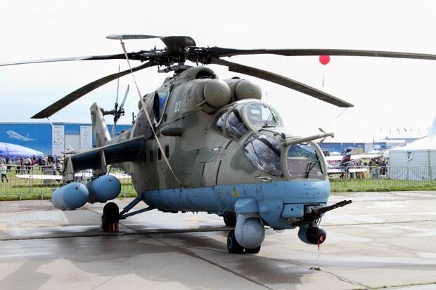 Helikopter Mi-35 srbske vojske