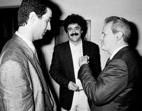 Đukanović, Bultović in Milošević iz časov zavezništva
