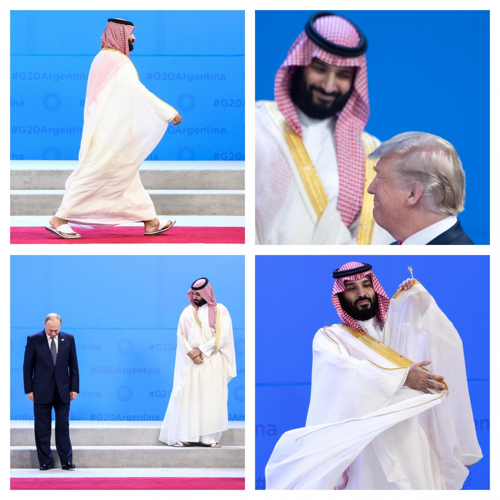 Savdski princ na vhu G20 v Argentini Vir: Pixsell 