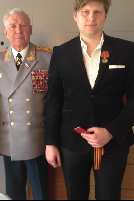 Tadej Terček in Moisiev
