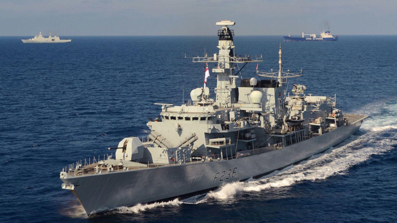 HMS Montrose Vir:File Pic