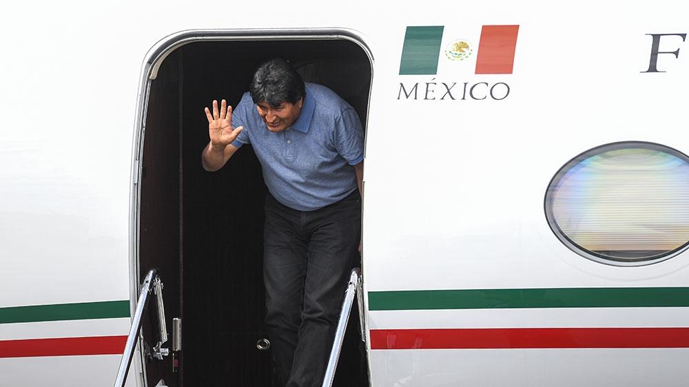 Morales prihaja v Mehiko