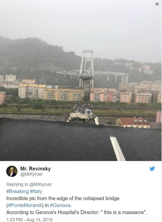Genova most