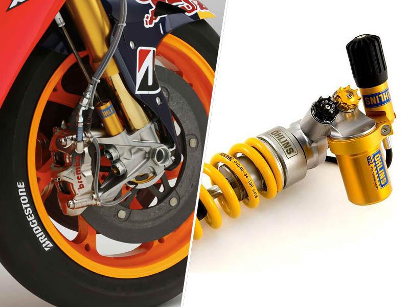 Moto GP vzmetenje