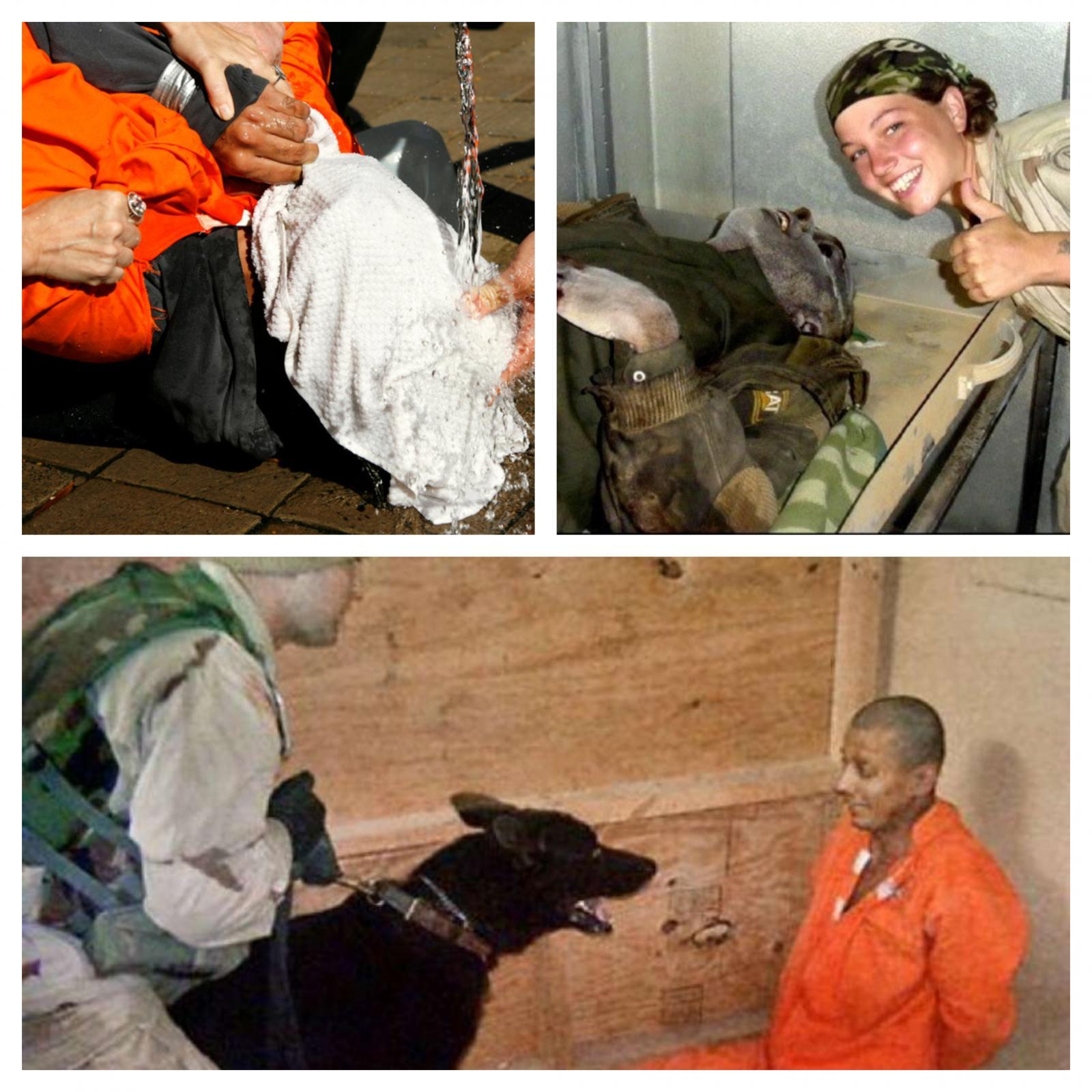 Mučenje CIE - prizori iz Abu Graiba