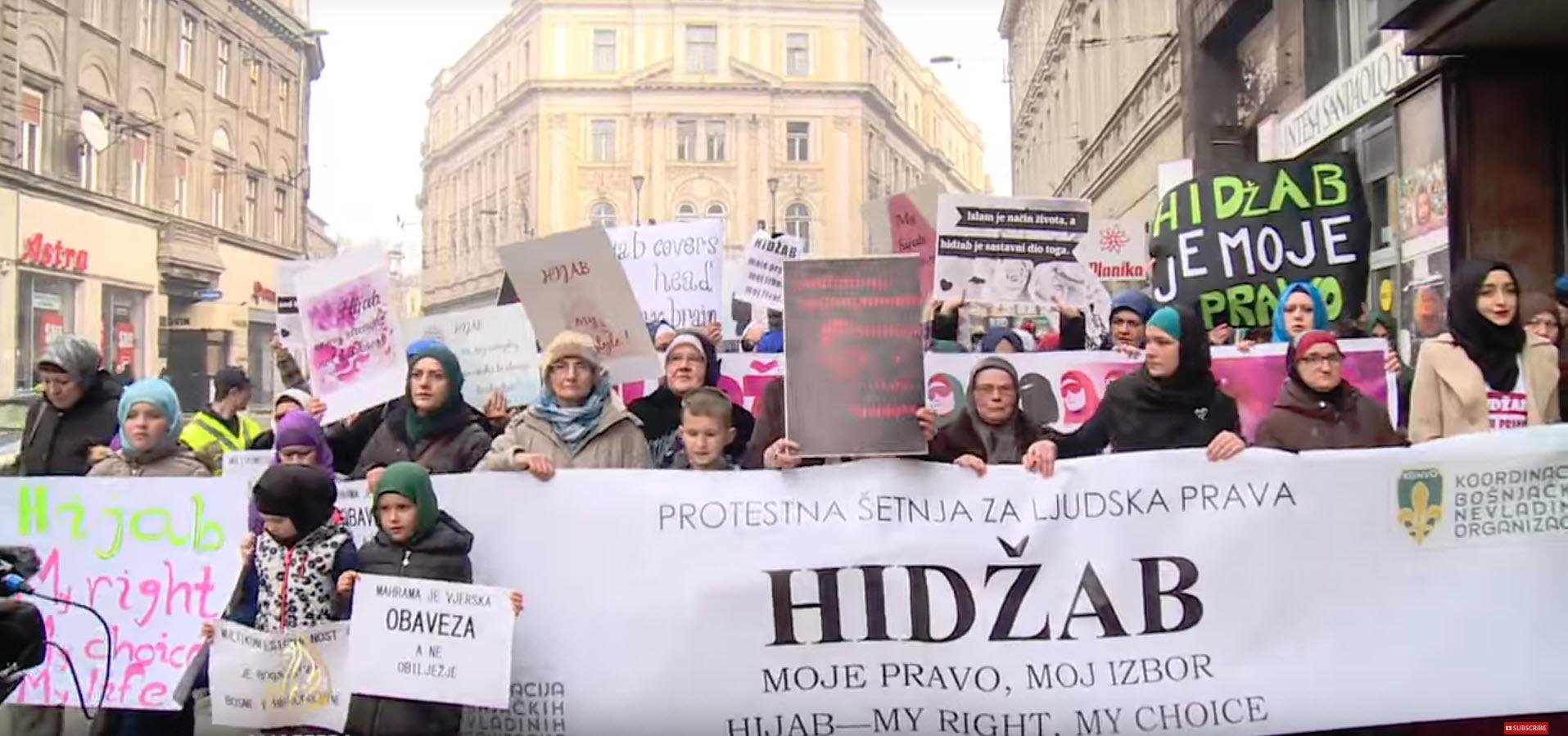 Sarajevo in muslimanke v 21. stoletju, vir: YouTube