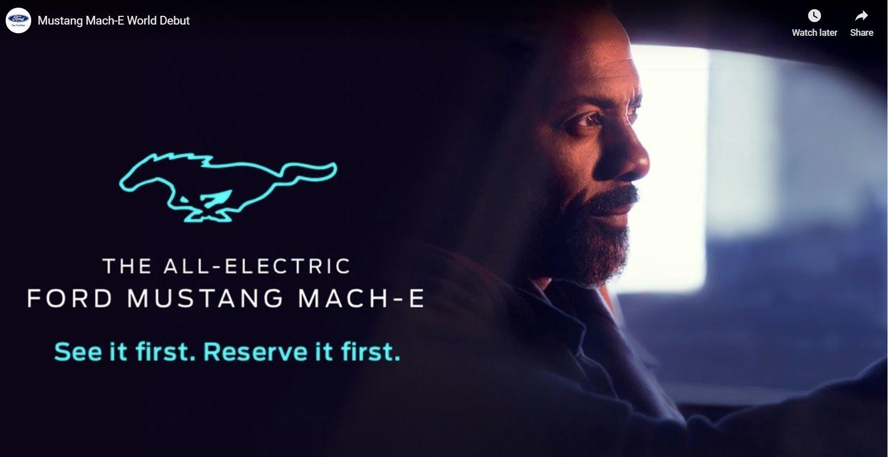 Mustang Mach-E, predtavitev