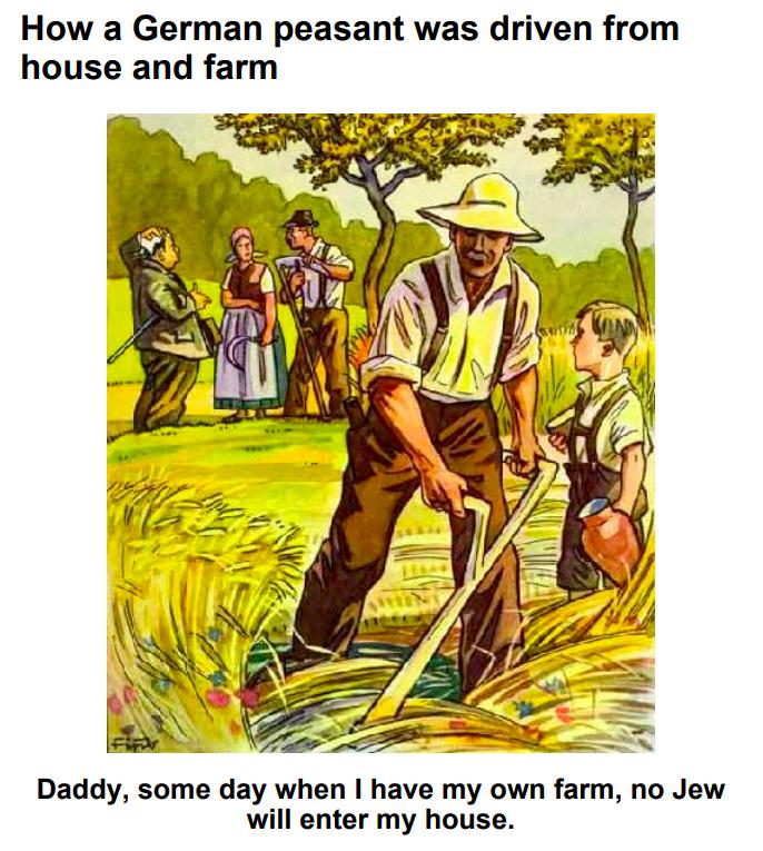 Nacistična propaganda - židovski oderuhi