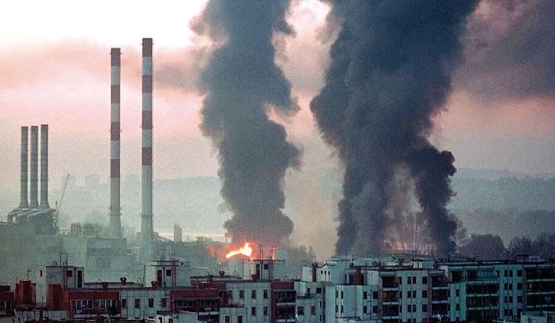NATO, napadi na tovarne, 1999 Beograd