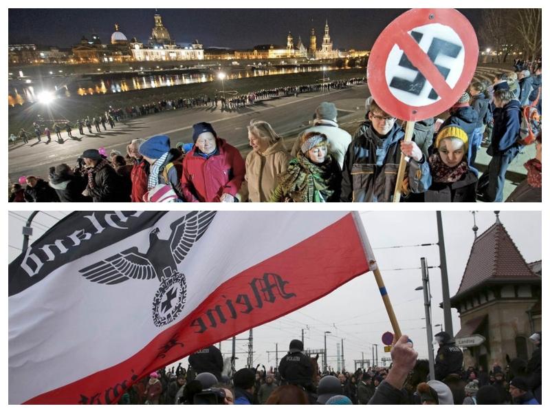 Dresden in neonacisti