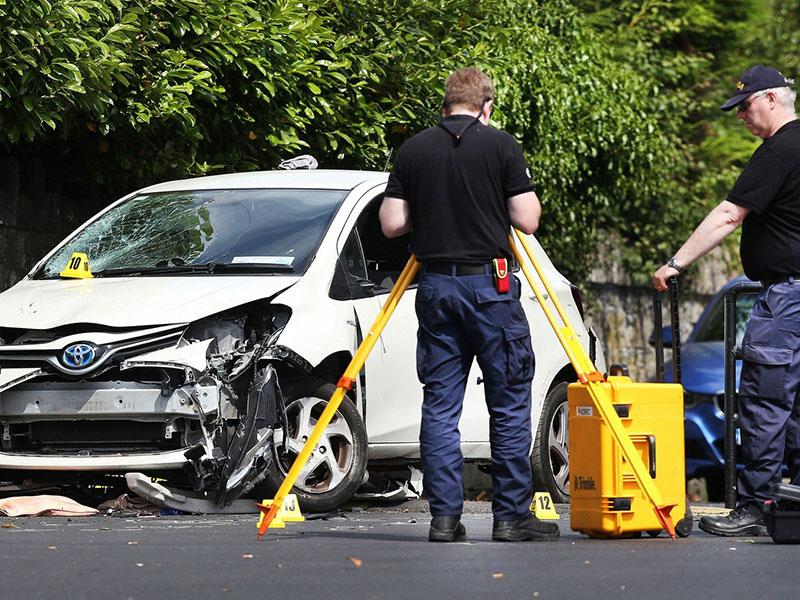 Nesreča avto