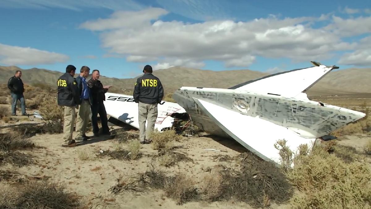 Nesreča Virgin Galactic Vir:Wikimedia