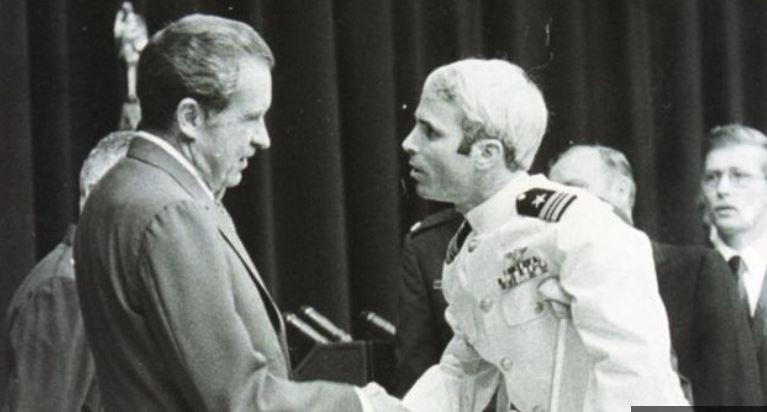 McCain in Nixon