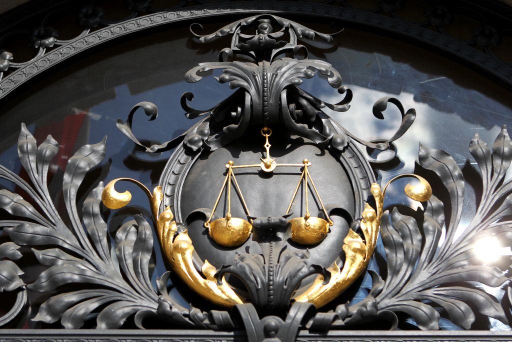 Sodišča - znak
