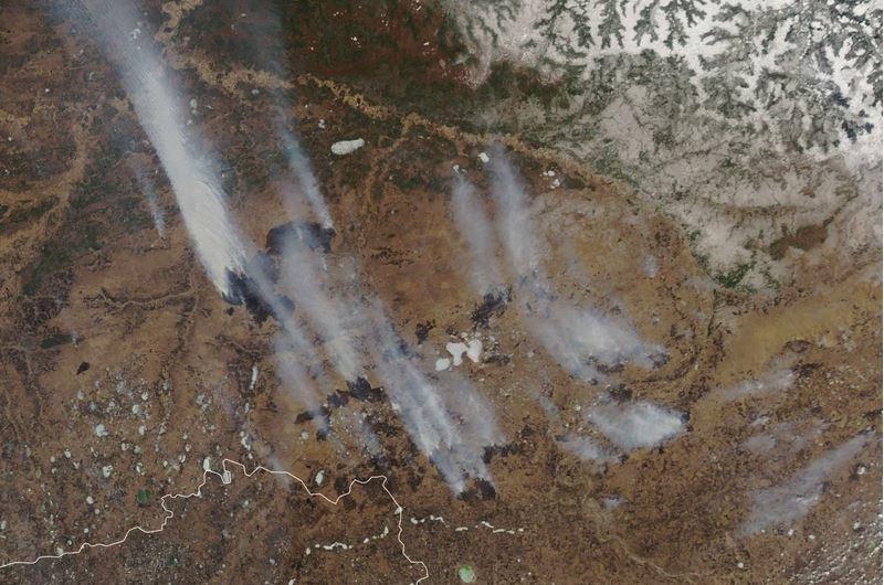 Ogenj v Sibiriji
