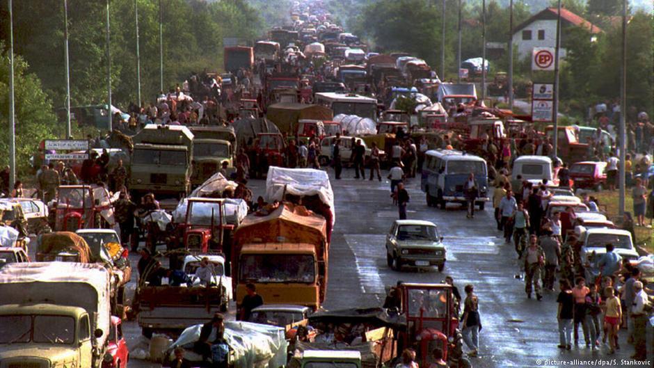 Begunci iz SAO Krajine v Srbiji 1995 leta