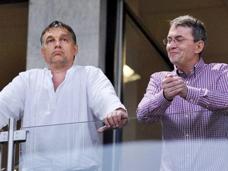 Viktor Orban in Istvána Garancsija