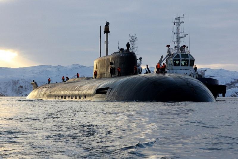 Ruska jedrska podmornica Orel