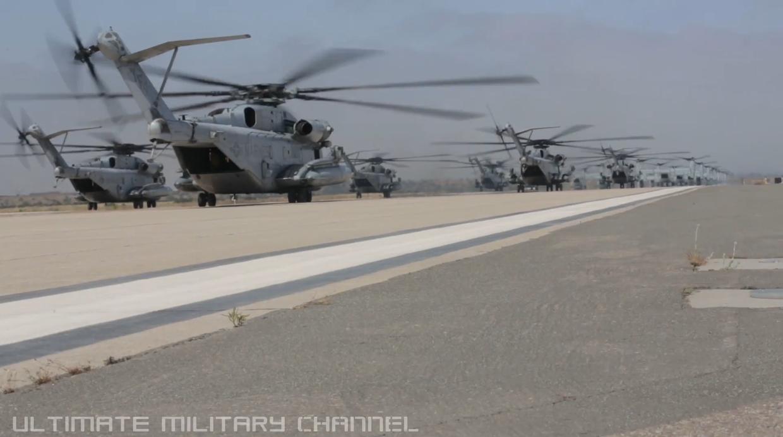 Helikopterji MV-22B Vir:YouTube