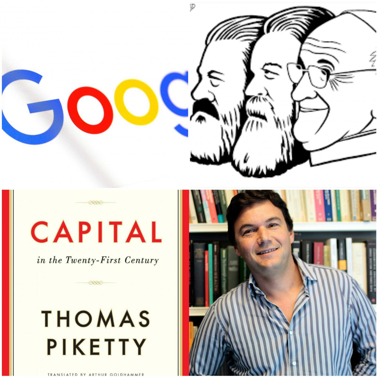"""Piketty, """"marksist"""" papež in Google"""