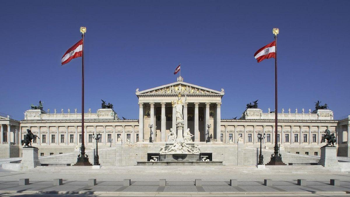 Avstrijski parlament  Vir: Twitter