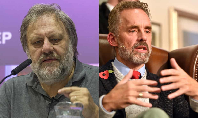 Peterson in Žižek