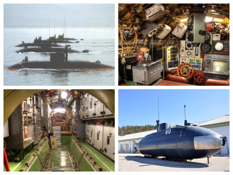 Podmornice - žepne, jugoslovanske