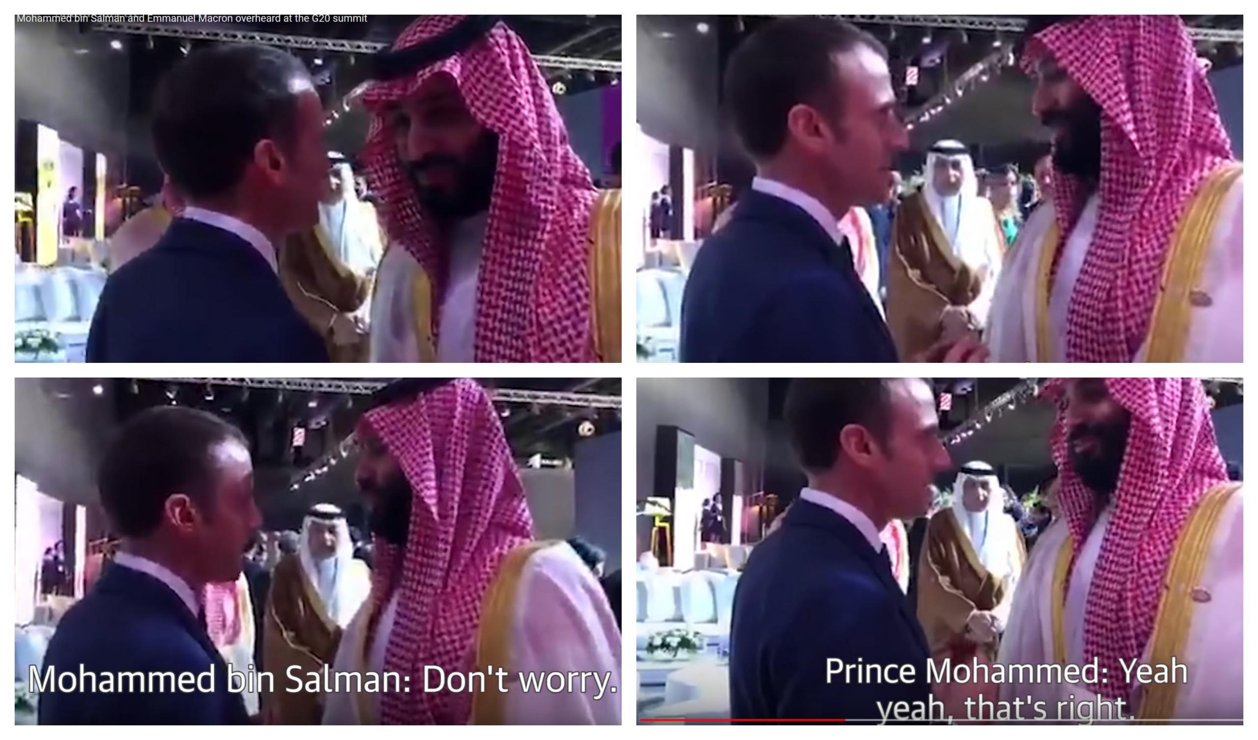 Macron in bin Salman, zaupno