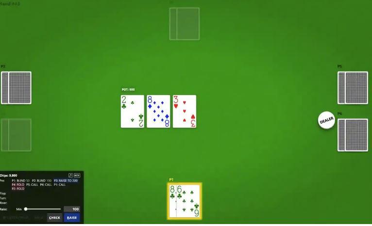 Računalnik igra poker Vir:Guardian