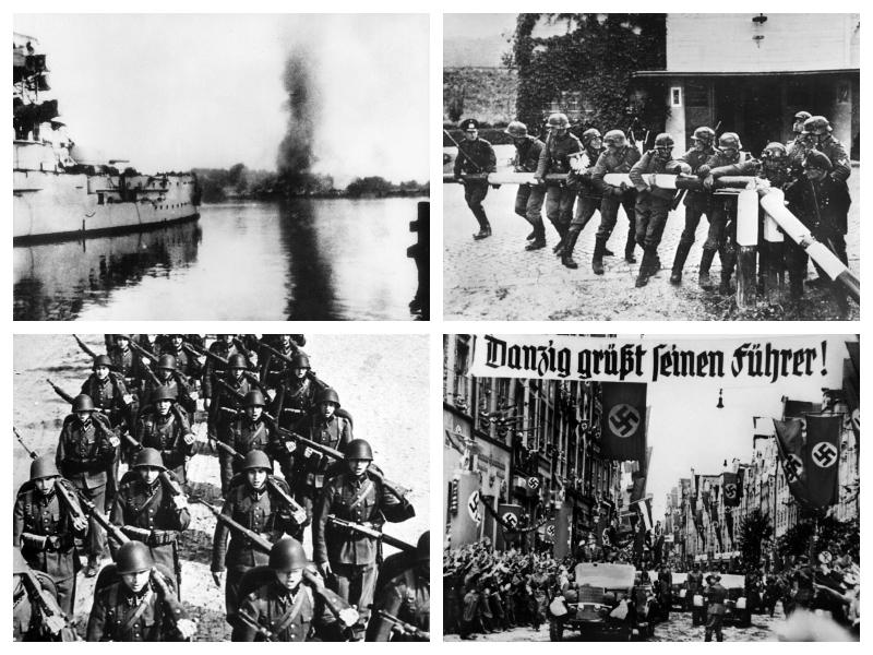 Začetek druge svetovne vojne - napad na Poljsko