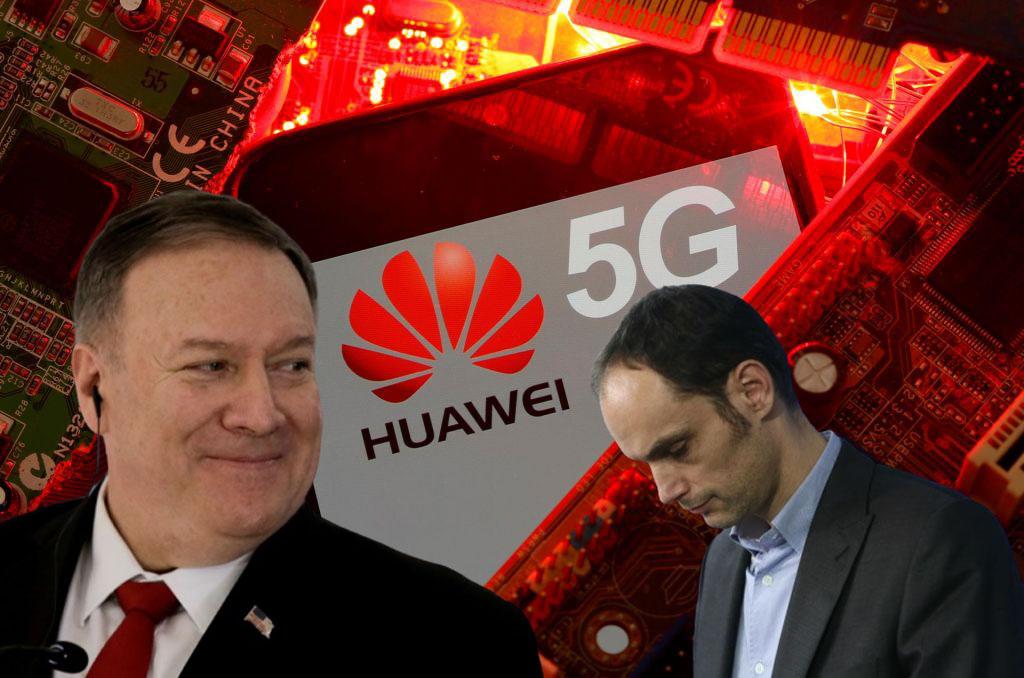 Pompeo in Logar - izdaja načel svobode trga zaradi 5G