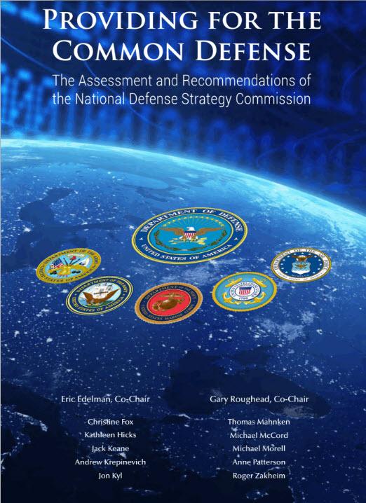 Razvpito poročilo o obrambnih silah ZDA