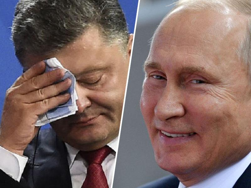 Porošenko in Putin