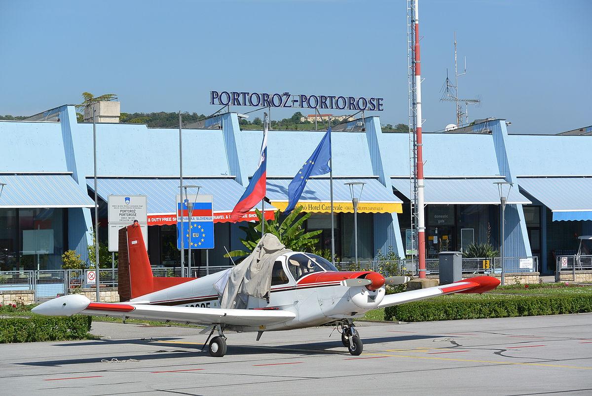 Letališče Portorož Vir:Wikipedia