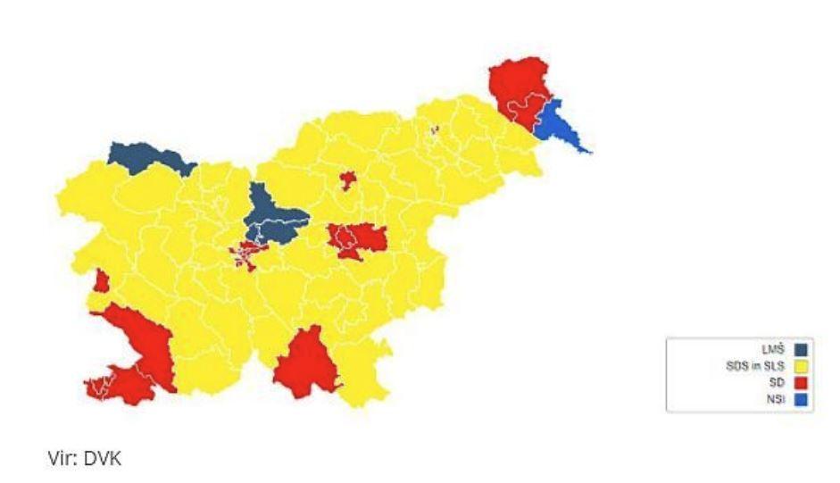 Glasovanje za poslance - Evropske volitve