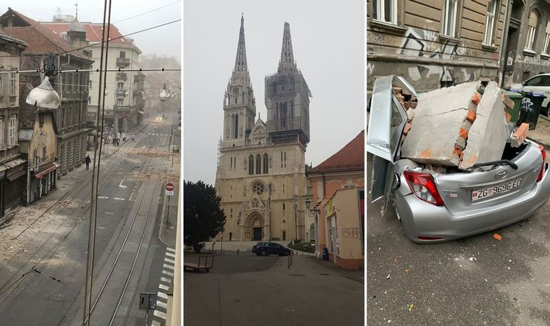 Potres v Zagrebu