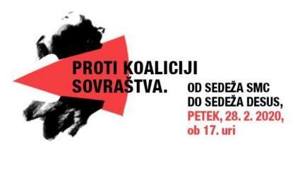 Poziv na shod proti vladi Janeza Janše