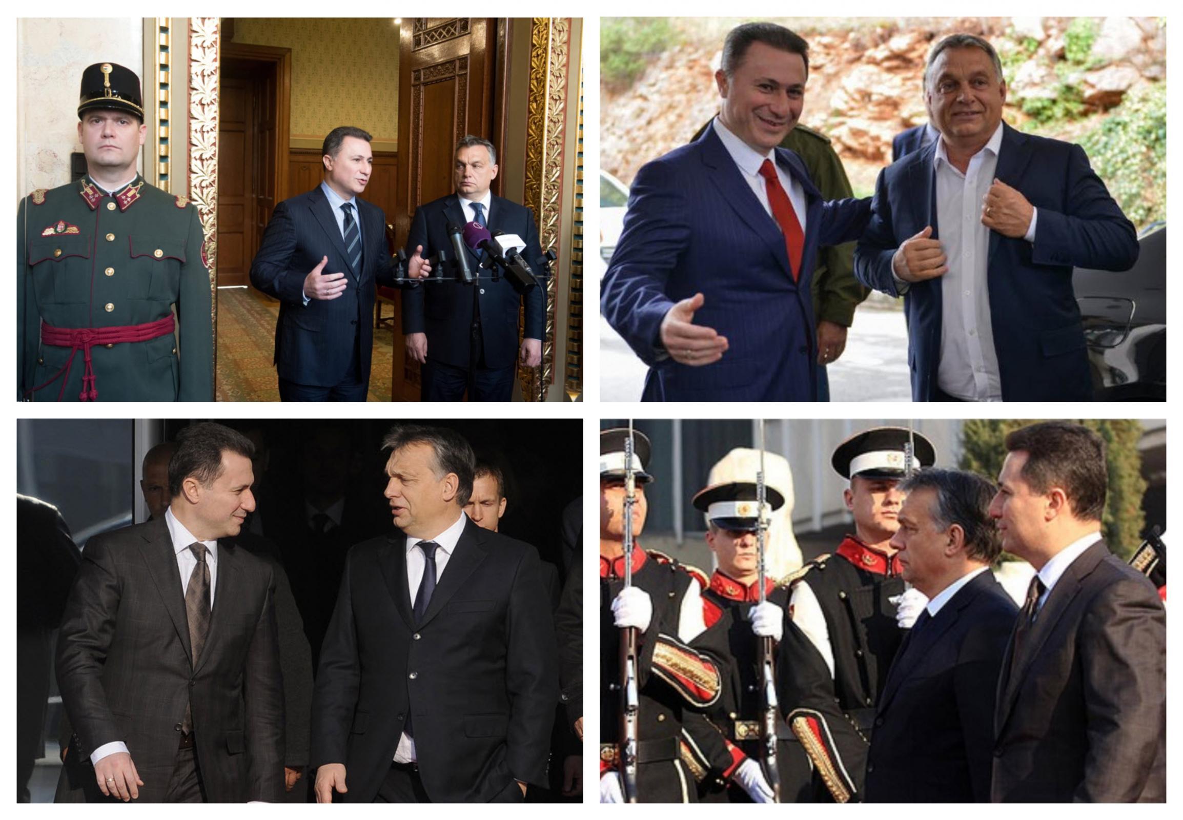 Gruevski in Orban, prijatelja in zaveznika