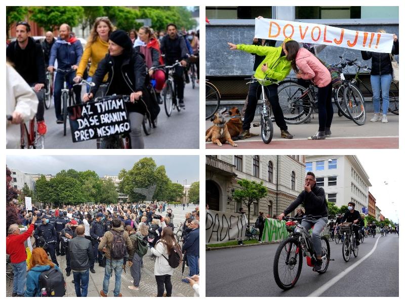 Protesti proti vladi Janeza Janše