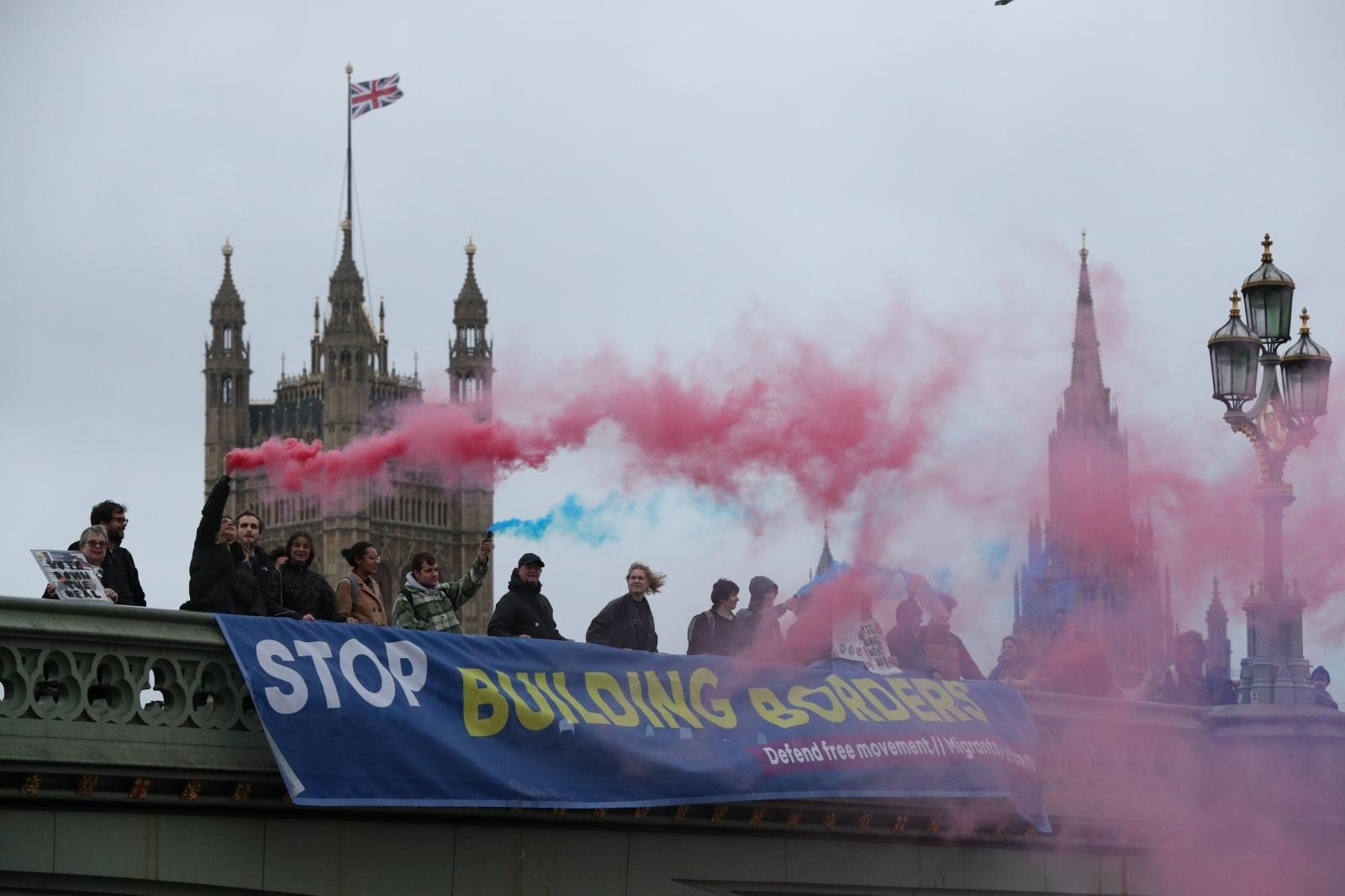 Protesti proti brexitu - London Vir:Pixell