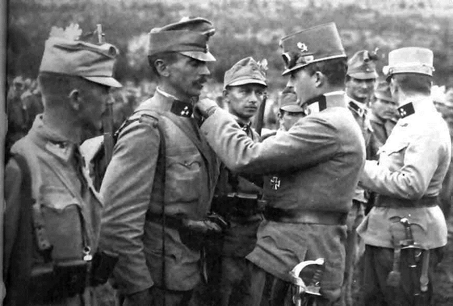 Avstroogrska odlikovanja - 1. svetovna vojna