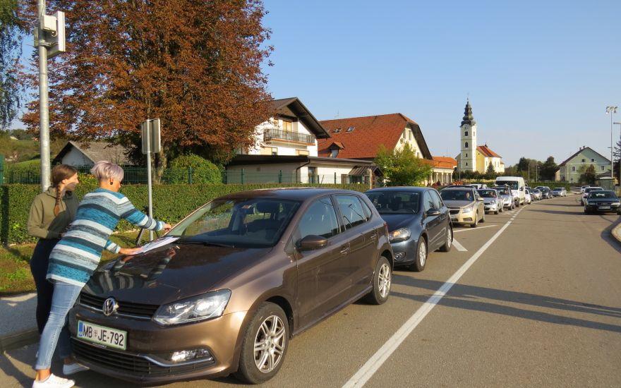 Protest v Zgornjem Leskovcu Vir:Ptujinfo.com